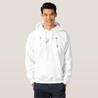 Sox on a telephone line hoodie