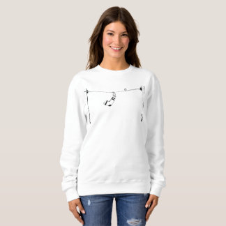 Sox on a telephone line sweatshirt