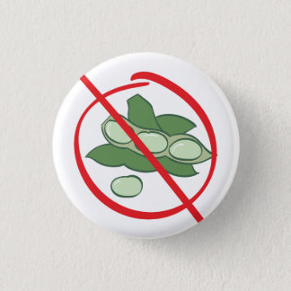 Soy Allergy 1 Inch Round Button