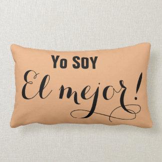 Soy el Mejor Motivation Lumbar Pillow