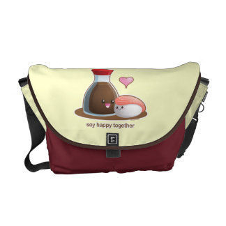Soy Happy Courier Bag
