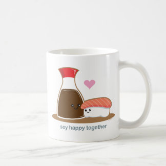 Soy Happy Together Classic White Coffee Mug