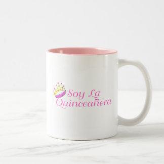 Soy La Quinceanera Two-Tone Coffee Mug