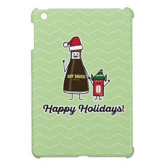 Soy Sauce Bottle Packet kid child Christmas Santa iPad Mini Covers