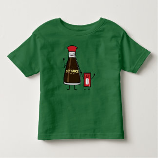 Soy Sauce Bottle Packet kid child condiment Asian Toddler T-shirt