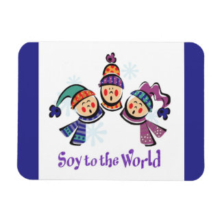 Soy to the World Choir Magnet
