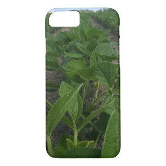 Soybean Rows Farming Phone Case
