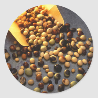 Soybeans Classic Round Sticker