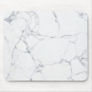 soyez le marbre blanc tapis de souris