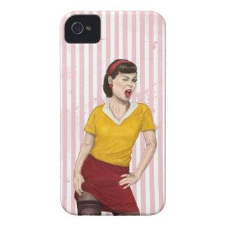 soyez mon amant coque iPhone 4 Case-Mate