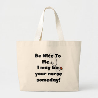 Soyez Nice les T-shirts et les cadeaux d infirmièr Sacs