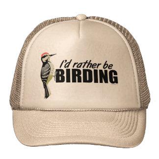 Soyez plutôt Birding Casquette De Camionneur