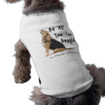 Soyez tous que vous pouvez beagle ! Choyez la pièc Vêtements Pour Animaux Domestiques