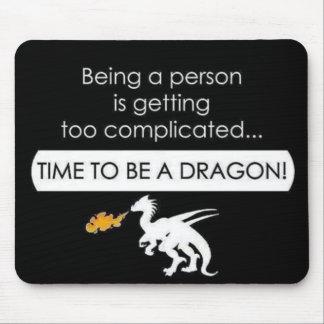 Soyez un dragon tapis de souris
