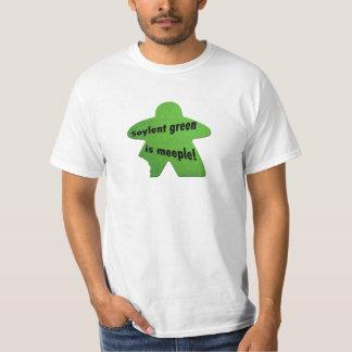 Soylent Green is Meeple T-shirt