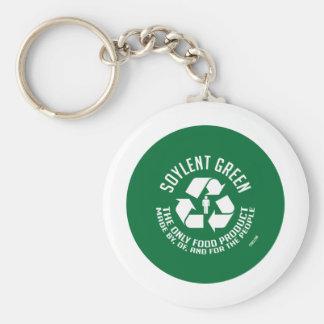 Soylent Keychain vert