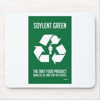 Soylent Mousepad vert Tapis De Souris