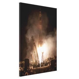 Soyuz Launch Canvas Prints