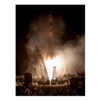 Soyuz Launch Postcard