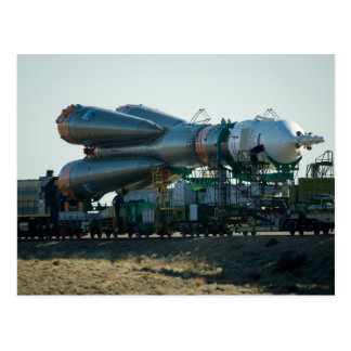 Soyuz to the Launch Postcard