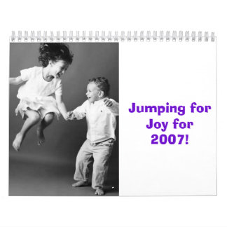 SP32-29, Jumping for Joy for 2007! Wall Calendars