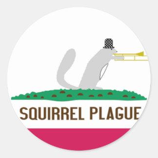SP Round Sticker