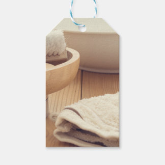 Spa and Retreat Background Pack Of Gift Tags