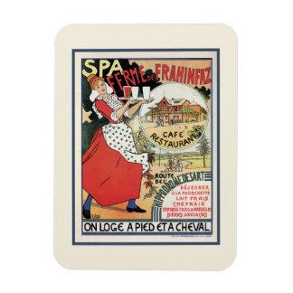 Spa Belgium 1894 Café Restaurant Frahinfaz ad Magnet