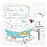Spa Bridal Shower Spa Party Invite