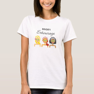 Spa Bride Entourage T-Shirt