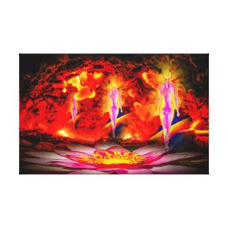 Spa Canvas Print