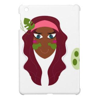 Spa goodness on white case for the iPad mini