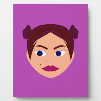 Spa Goodness pink design Plaque