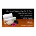 Spa/Massage/Pedicure Salon Scene Black/Colour