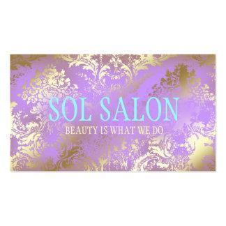Spa pourpre lilas, salon ou boutique de 311 soléno modèles de cartes de visite