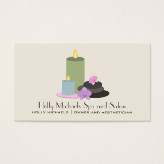 Spa & Salon Business Card
