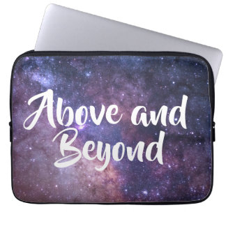 Space / Above and Beyond Laptop Sleeve