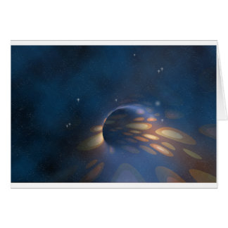 Space Abstract Card