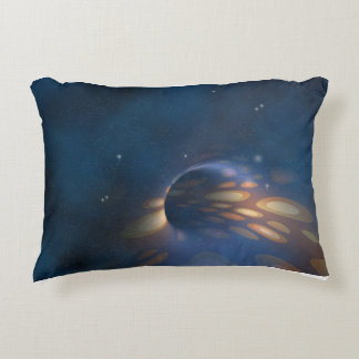 Space Abstract Decorative Pillow