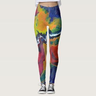 Space abstract legginigs leggings
