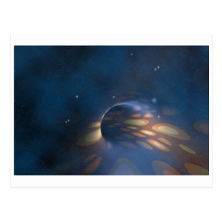 Space Abstract Postcard