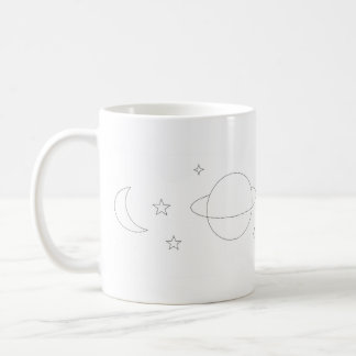 Space Aesthetic Mug