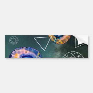 Space Agate Bumper Sticker