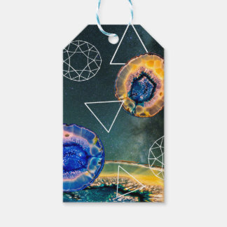 Space Agate Gift Tags