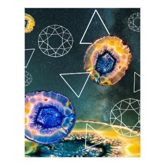 Space Agate Letterhead