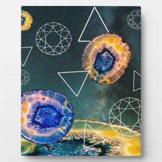 Space Agate Plaque