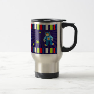 Space Age Happy Birthday Travel Mug