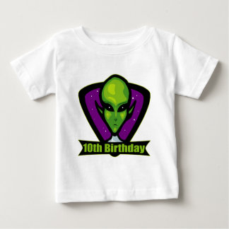 Space Alien 10th Birthday Gifts T Shirts