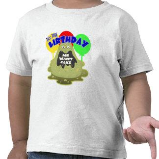 Space Alien Birthday Gift Shirt