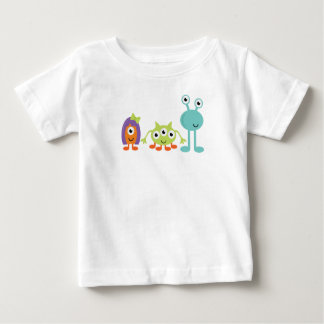 Space Aliens Baby Fine Jersey T-Shirt